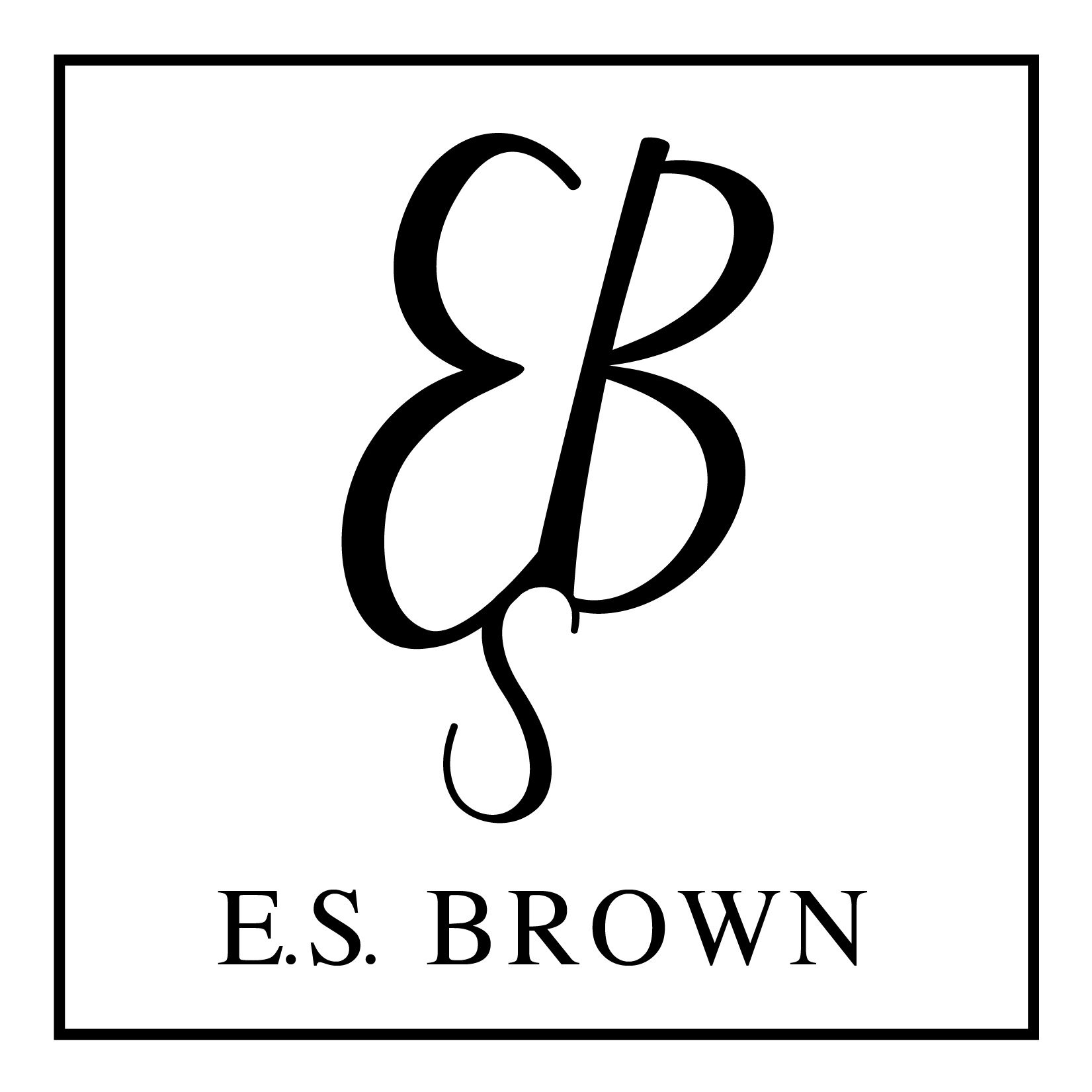 Author E.S.Brown
